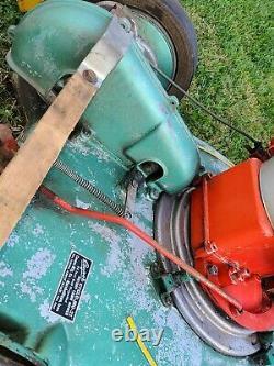 1950 ORIGINAL Vintage Cooper Cyclo Mo-21 Alum. Mower Marshalltown SELF PROPELLED
