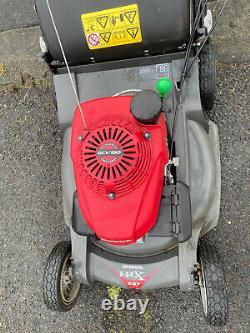 2015 Honda HRX537 Petrol Self Propelled Hydrostatic Drive 21 Cut Lawnmower