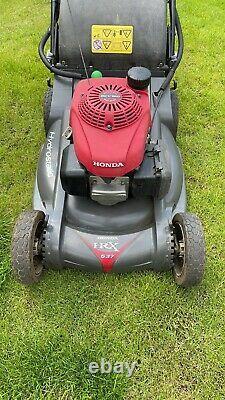 2017 Honda HRX 537 VY 53cm (21) Petrol 4-Wheel Self-Propelled Rotary Lawnmower