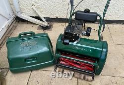 Allett Webb Atco Balmoral 17S petrol self propelled cylinder lawnmower 2001