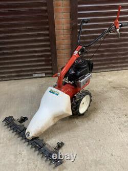 Apache 32 Cut Scythe Sickle Bar Lawn Mower Petrol Self Propelled Rough Cut