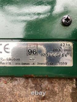 Atco Balmoral 14se petrol self propelled cylinder lawnmower