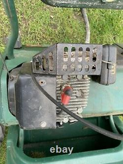Atco Balmoral 17s petrol self propelled cylinder lawnmower