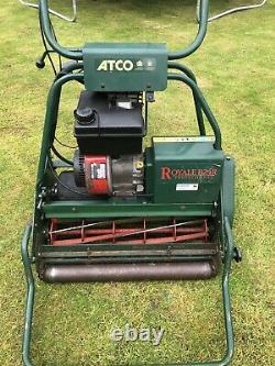 Atco royale B24 petrol cylinder Self Propelled lawnmower