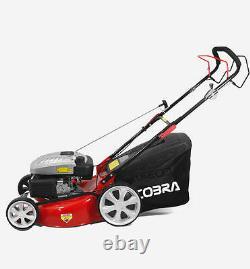 COBRA M51SPC 20 Self Propelled Mulching Lawn Mower Petrol Garden Lawnmower