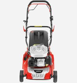 COBRA RM40SPC Lawnmower 16 Self Propelled Rear Roller Petrol Lawn mower 2yr War