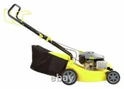 Challenge XSZ40E 40cm Self Propelled Hand Push Petrol Lawnmower 129cc