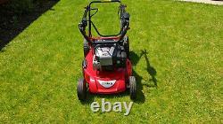 Cobra Electric start petrol Lawnmower 5 Speed self propelled drive