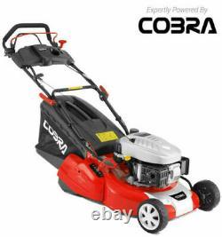 Cobra RM46SPCE Lawnmower Key Start Self Propelled Easy start rear roller mower