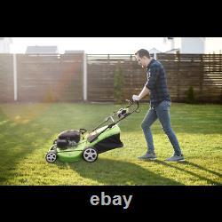 Dellonda Self Propelled Petrol Lawnmower Grass Cutter 170cc 20/51cm 4-Stroke