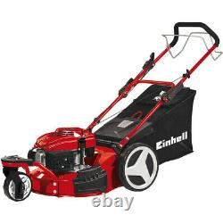 Einhell 141cc 46cm 3 Wheeled Self Propelled Petrol Lawnmower GC-PM 46 S HW-T