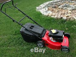 Euro Raser Petrol Self Propelled Lawnmower with GGPRS Engine 44cm Cut ES464TR-G