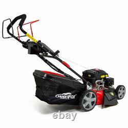 ExDemo Frisky Fox Lawn Mower Petrol Self Propelled Electric Start 51cm 20