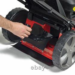 Frisky Fox 20 / 51cm Petrol Lawn Mower 173c QuadCut Self Propelled Lawn Mower