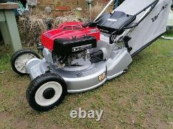 HONDA HR194 QM 19 Self Drive RotoStop Electric Start Petrol Lawnmower