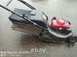 HONDA HRH 536 Pro Roller Self Propelled Lawnmower New Grass Bag
