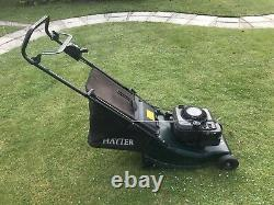 Hayter Harrier 41 Auto Drive Petrol Lawn Mower With Rear Roller Self Propelled