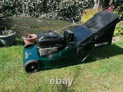 Hayter Harrier 48 19 Rear Roller Self Propelled Electric Start Lawnmower