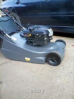 Hayter Harrier 48 lawnmower electric start self propelled