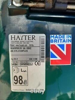 Hayter Harrier 56 BBC blade brake clutch self propelled lawnmower