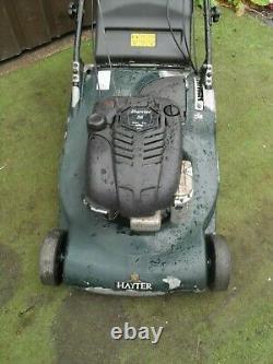 Hayter Harrier 56 Self Propelled Petrol Roller lawnmower 22 CUT Mower