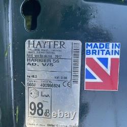 Hayter Harrier 56 V/s Self Propelled Petrol Lawnmower 2017