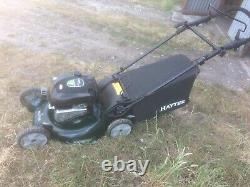 Hayter R53a Self Propelled Petrol Mower Electric Start Excellent Condition