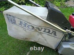 Honda 21 roller mower Electric start self propelled HR2160 with steel rollers