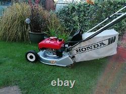 Honda HR1950 QX 19 Self Drive RotoStop Blade Clutch Rear Roller Lawnmower