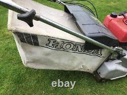 Honda HR2160QX Self Propelled mower 21in Cut Rear Roller Serviced