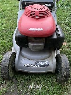 Honda HRB 425c Rear Steel Roller Self Propelled Petrol Lawnmower