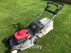 Honda HRB 475C Professional Self Propelled mower 19in Cut Rear Roller Serviced