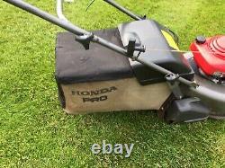 Honda HRD 535 QXE Self Propelled mower 21in Cut Rear Roller Serviced