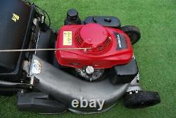 Honda HRD 536 QXE 21 Petrol Self-Propelled Rear Roller Rotary Lawnmower
