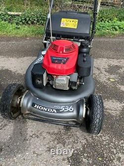 Honda HRH536 Rear PRO Roller BBC Lawnmower Self Propelled 21inch 2019