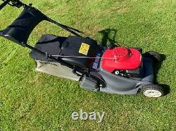 Honda HRX 476 QX Self Propelled Petrol Lawn Mower with Rear Roller & Roto Stop