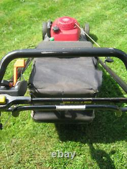 Honda HRX 537 HYEA 53cm (21) Petrol 4-Wheel Self-Propelled Rotary Lawnmower