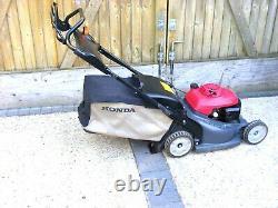Honda HRX476 Mower- Hydrostatic- Petrol- Lawnmower Self Propelled ex cond