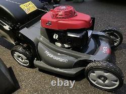 Honda HRX537 21 Hydrostatic Self Propelled Mulching Petrol Lawnmower Pro