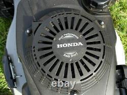 Honda High Performance Lawn Mower. Easy Start GVC 160. Self Propelled 4 stroke
