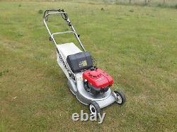 Honda Hr1950 19 Petrol Self Propelled Roller Lawn Mower