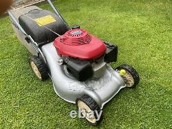 Honda IZY HRG416SD 16 petrol self propelled Lawnmower with grass collector