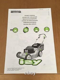 Honda Izy Self Propelled Petrol Mower (16)