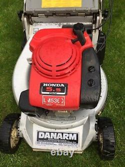 Honda Kaaz Danarm 21 Self Propelled Petrol Lawnmower Roller Mower Lawnflite