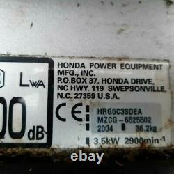 Honda Petrol Self Propelled Lawn Mower + Spare honda engine (the same)