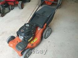 Husqvarna 53cm cut. Self propelled petrol, lawnmower
