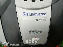 Husqvarna LC153S Self Propelled Petrol Mower B&S 675EX Serviced & New 21 Blade