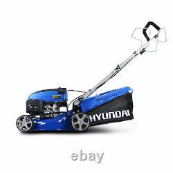 Hyundai HYM430SP Self Propelled 17 43cm 139cc Petrol Lawn Mower GRADED
