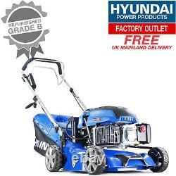 Hyundai HYM430SPE Self Propelled Electric Start 17Petrol Lawnmower GRADED