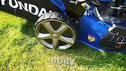 Hyundai Petrol Lawn Mower Self Propelled Mulching Lawnmower 139cc 18 46cm Cut